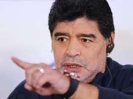 Diego Maradona. EFE/Archivo