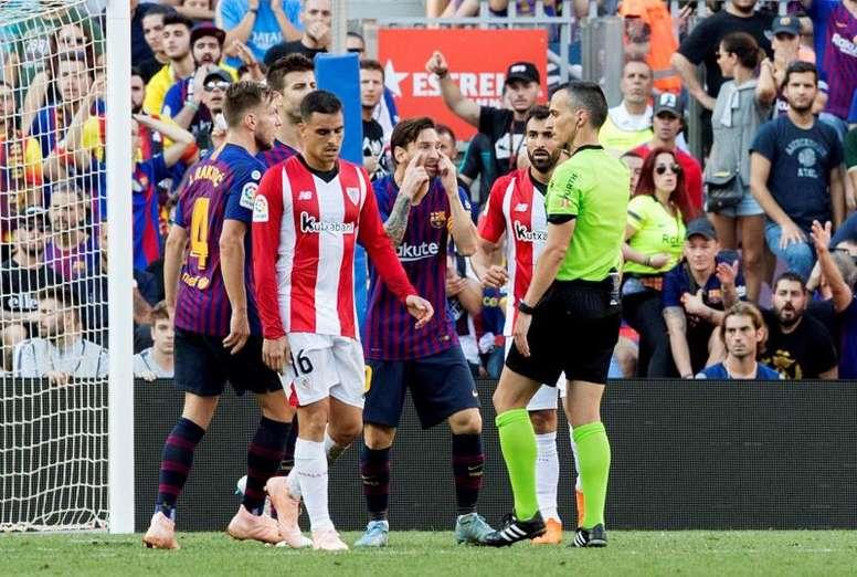 A presença de Messi ainda é dúvida. EFE