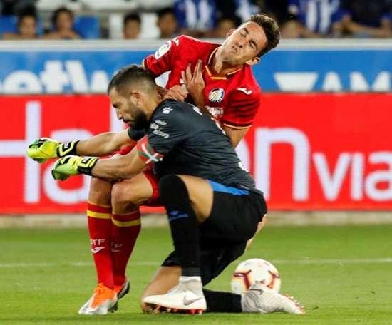 Pacheco s'est blessé à l'entraînement. EFE