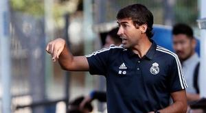 Le rêve de Raul avec la Castilla. EFE/Archivo