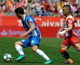 Javi López solo piensa en vencer al Huesca. EFE/Archivo