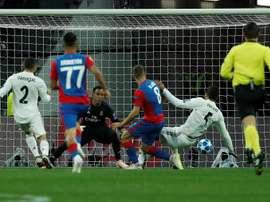 El Madrid perdió en Rusia. EFE