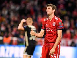 The Bavarian's narrow win was enough for Muller. EFE