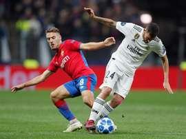 El futbolista croata desniveló la balanza en los instantes iniciales del encuentro. EFE