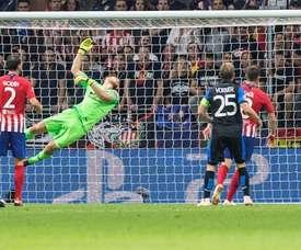 El Brujas marcó uno de los goles de la jornada. EFE