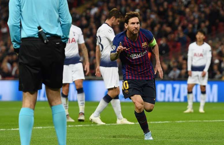 Lionel Messi ran riot the last time the two clubs met in October. EFE