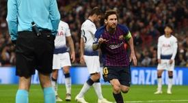 Messi, meilleur joueur de la semaine. EFE