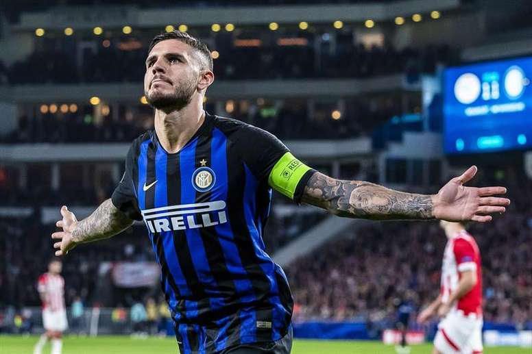 L'Inter Milan veut prolonger Icardi. EFE