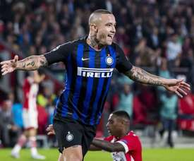 Radja Nainggolan da Inter Milán. EFE