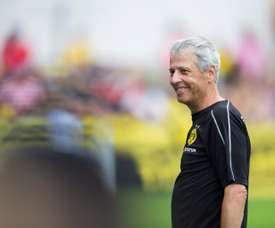 Favre was hired BVB manager in 2018. EFE
