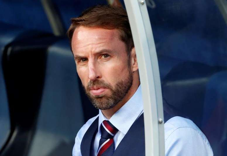 Southgate signed a new England contract until 2022 on Thursday. AFP