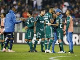 Palmeiras se mantuvo en el liderato. EFE/Archivo