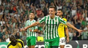 Lo Celso firmó un auténtico golazo. EFE
