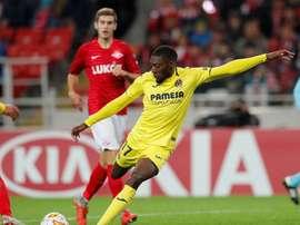 El Villarreal rescató un punto 'in extremis'. EFE