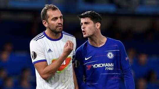 Chelsea scraped past MOL Vidi in the Europa League. EFE