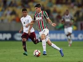 Fluminense firmó su pase a cuartos de la Sudamericana. EFE