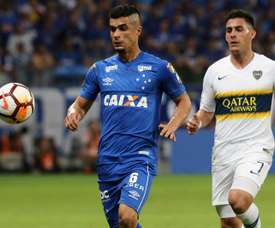 Boca se las verá con Palmeiras. EFE