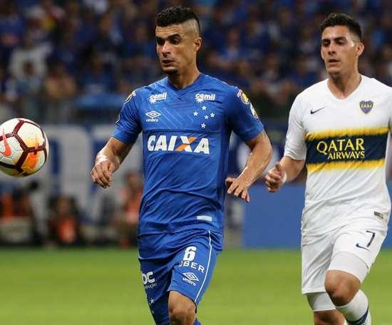 Egídio tiene claro que Boca no pasará la eliminatoria ante Palmeiras. EFE