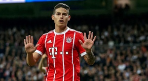 La Juve sigue pensando en James Rodríguez. EFE