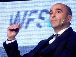 Roberto Martínez declinó hablar sobre el interés del Madrid. EFE/Archivo
