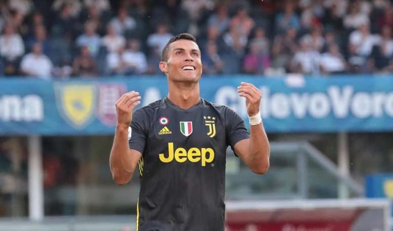 Juventus, Cristiano Ronaldo. EFE/Archivo