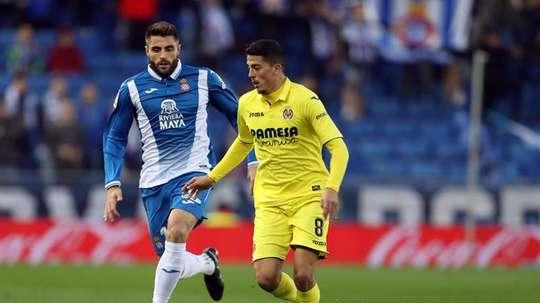 David López tiene contrato con el Espanyol hasta 2023. EFE/Archivo