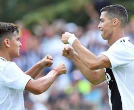 Dybala es duda para el próximo partido de la Juventus. EFE/Archivo