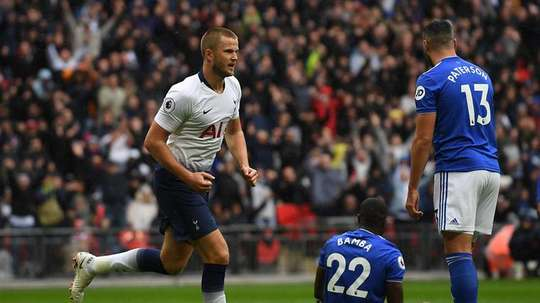 Eric Dier and Lucas Moura, could be Man Utd players soon. EFE
