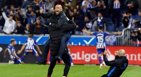 Alaves are gaining a reputation in LaLiga. EFE