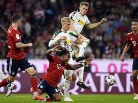 El Bayern encajó un sonrojante 0-3. EFE