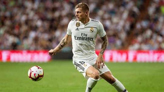 Real Madrid, Toni Kroos. AFP