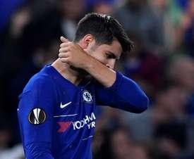 Morata has gone through a tough time at Stamford Bridge. EFE