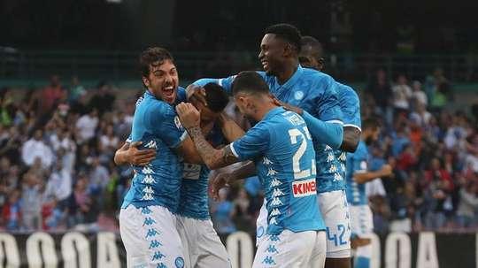 El Nápoles sigue siendo la alternativa a la Juve. EFE