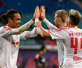 Leipzig beat Brendan Rodgers' men by two goals. EFE