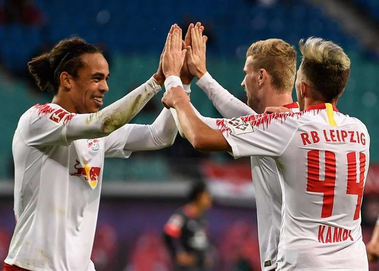 Leipzig beat Brendan Rodgers' men by two goals. EFE