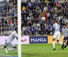 Mauro Icardi hizo los dos goles del Inter al SPAL. EFE/EPA
