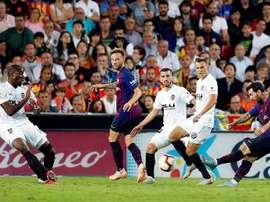 Les compos probables de la finale de Coupe du Roi entre le FC Barcelone et Valence. EFE