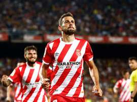 Stuani has been reborn since returning to Spain. EFE