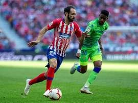 Juanfran reviendra l'année prochaine pour dire au revoir au club. EFE
