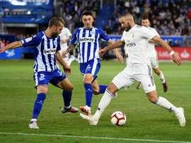 Les compos probables du match de Liga entre le Real Madrid et Alaves. EFE