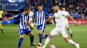 LaLiga denunció hasta seis insultos al Madrid. EFE/Archivo
