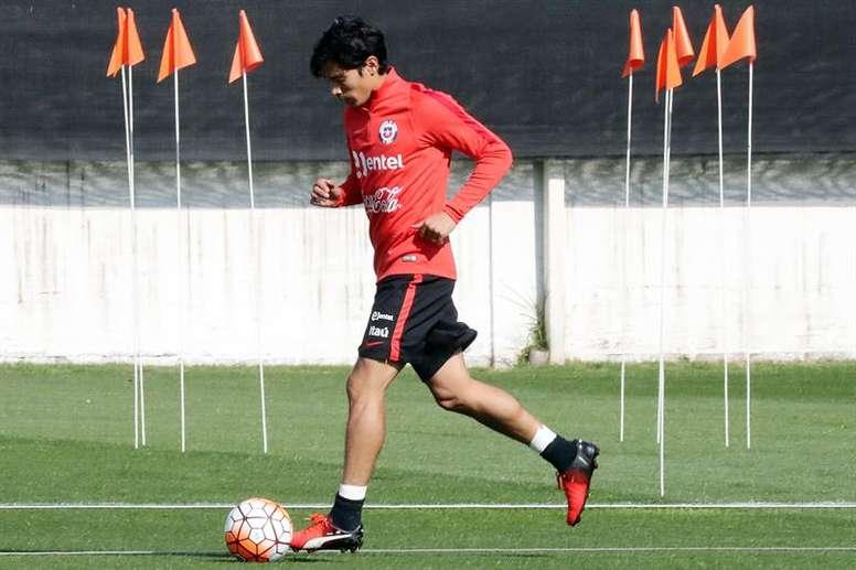 'Matigol', en Chile para firmar con Colo Colo. EFE