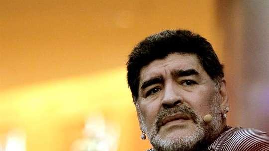 Diego Maradona fútbol mexicano. EFE/Archivo