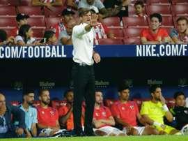Leo Franco n'est plus l'entraineur du Huesca. EFE