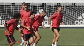 Marcelo pense être là contre Levante. EFE