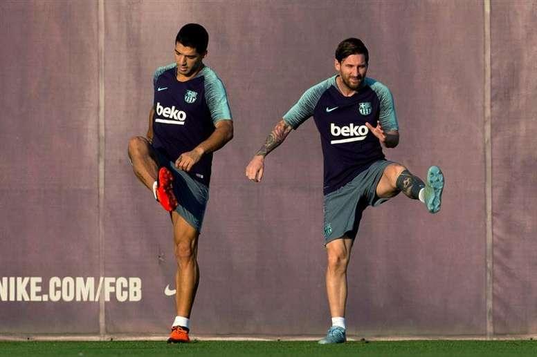 Pep Segura believes Barcelona's squad has improved. EFE
