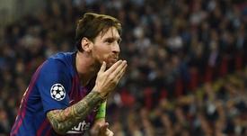 Messi, surpreendente 'MVP' de setembro. EFE/Archivo