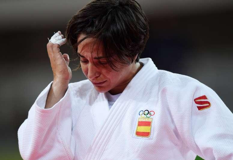 La judoca internacional Julia Figueroa. EFE/Archivo