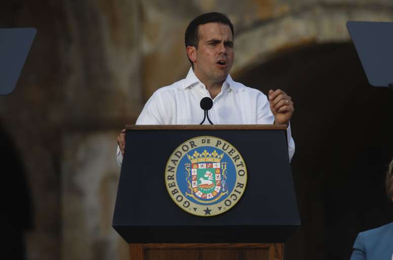 Ricardo Rosselló, gobernador de Puerto Rico. EFE/Archivo