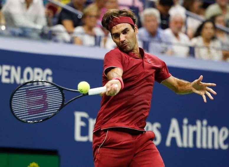 El suizo Roger Federer durante un torneo. EFE/Archivo